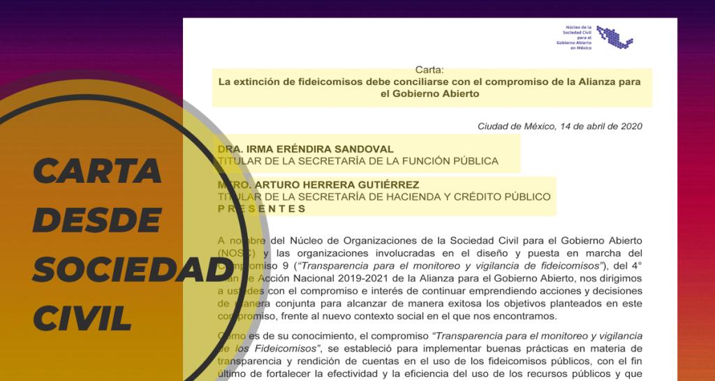 Comunicaciones – Carta a SFP y SHCP