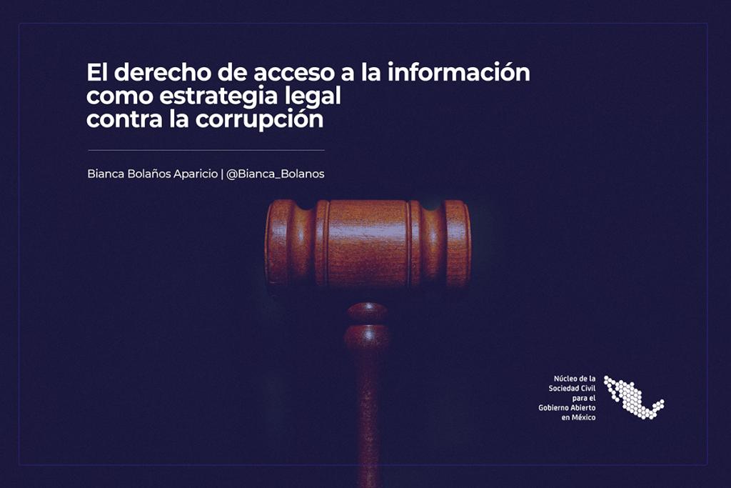 El derecho de acceso a la información como estrategia legal contra la corrupciON-1200X